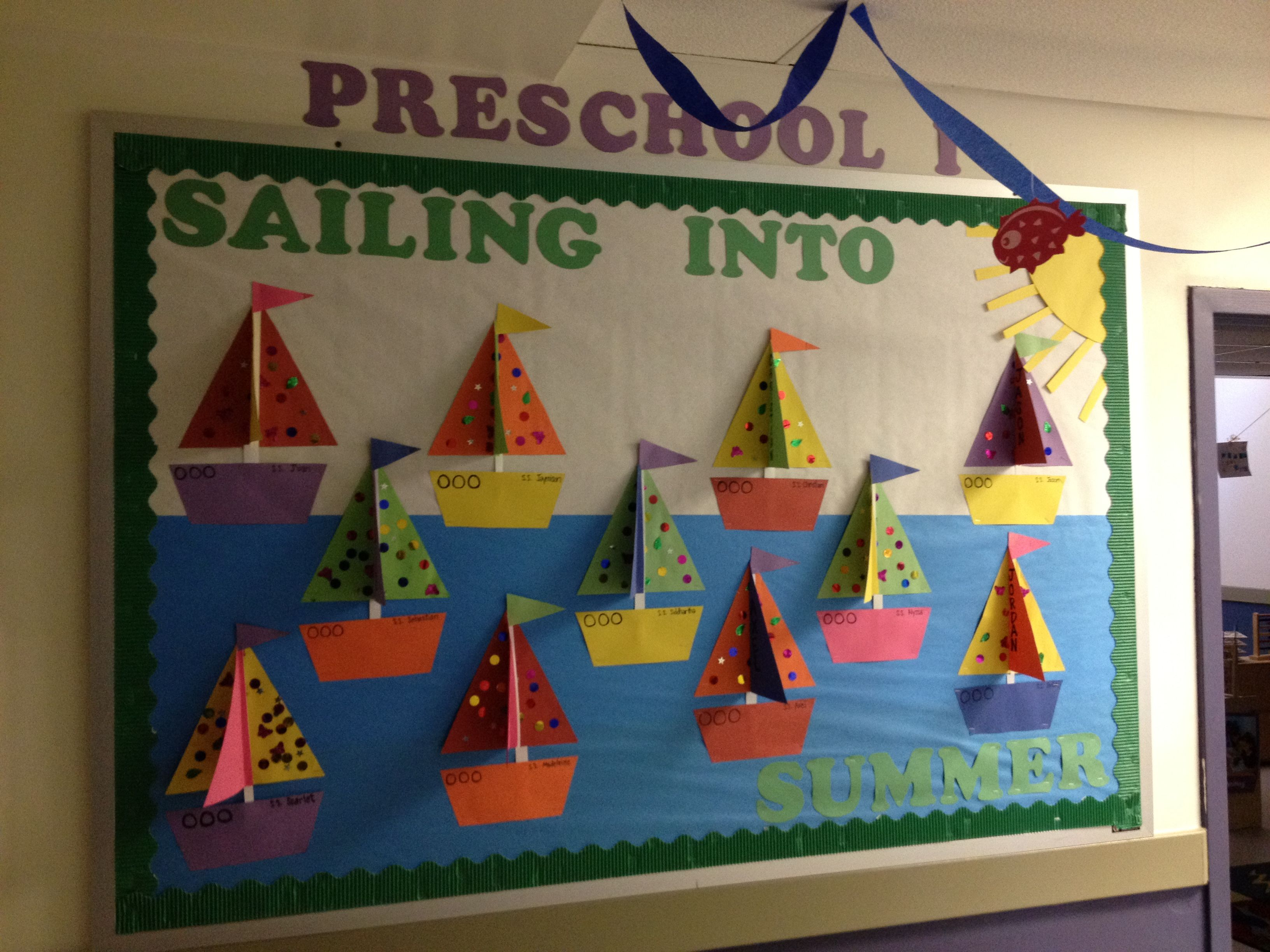 Summer Themed Classroom Decorations : Summer ideas for preschool classroom about