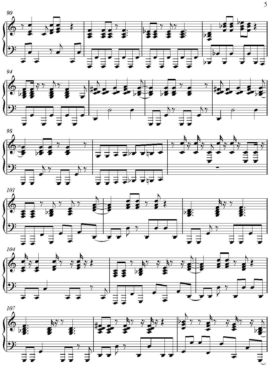"Partitura para Piano ""Don't Stop Me Now"" | Partituras ..."