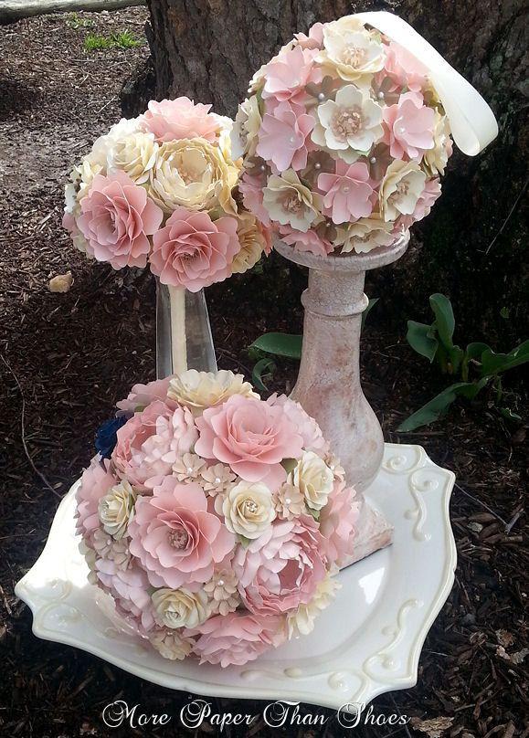 This listing for a single CUSTOM designed Bridal Bouquet, diameter ...