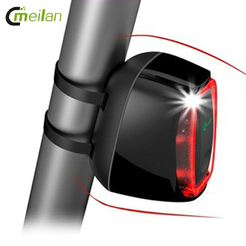 Smart Cycling Rear Light Led Bike Bicycle Light USB Rechargeable,Shock Sensing&Daylight Sensing bike accessories 7model