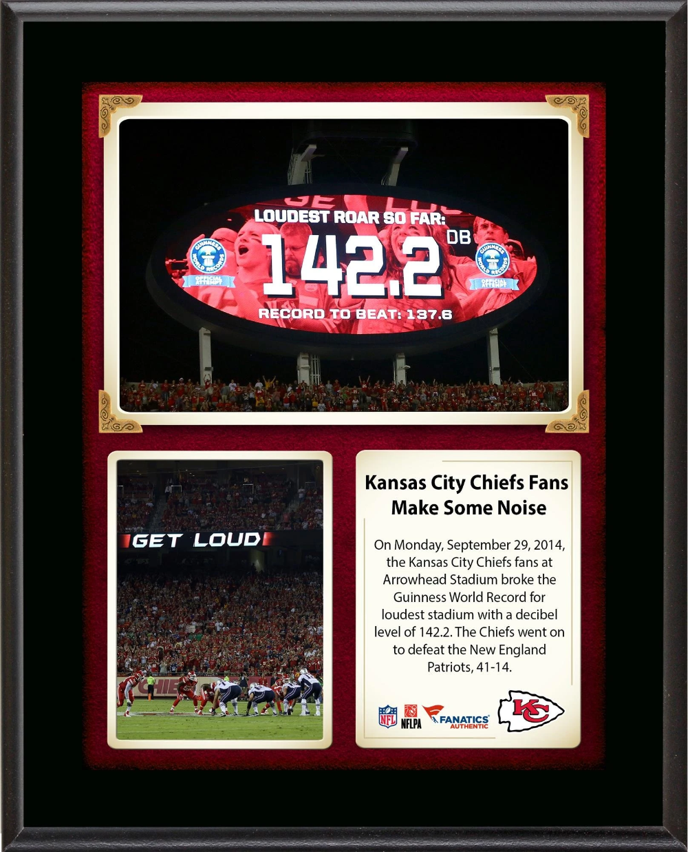 Kansas City Chiefs Fans Break The Guinness World Record For Loudest St Videos Images Pictures In 2020 World Records Kansas City Chiefs Guinness