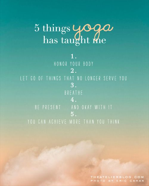 lessons from yoga   Healthy Living & Cooking   Pinterest ...