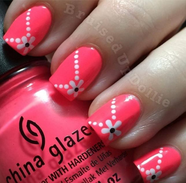 Nice Nail Art For Beginners Simple Nail Art Easy Nail Art Design Simple Nails Simple Nail Art Designs Nail Art For Beginners