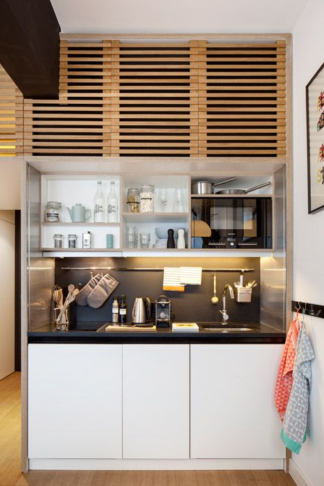 Studio Un Amenagement Moderne Et Bien Pense Small Spaces Decor