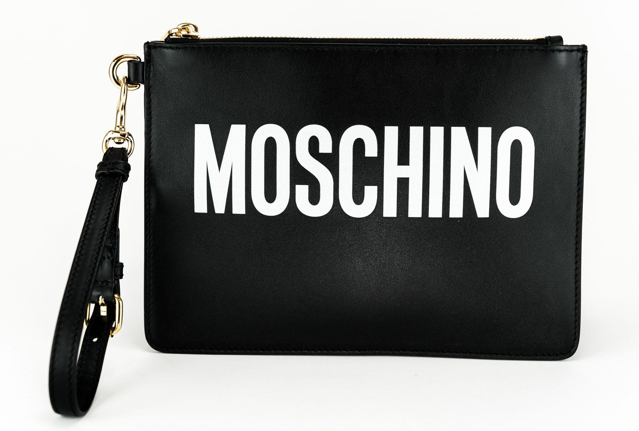 MOSCHINO CLUTCH. #moschino #bags #shoulder bags #clutch
