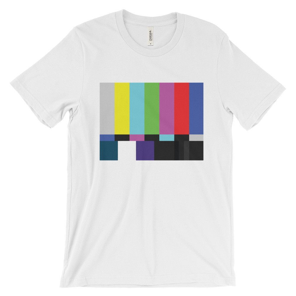 Television Test Patter - Color Bars T-shirt