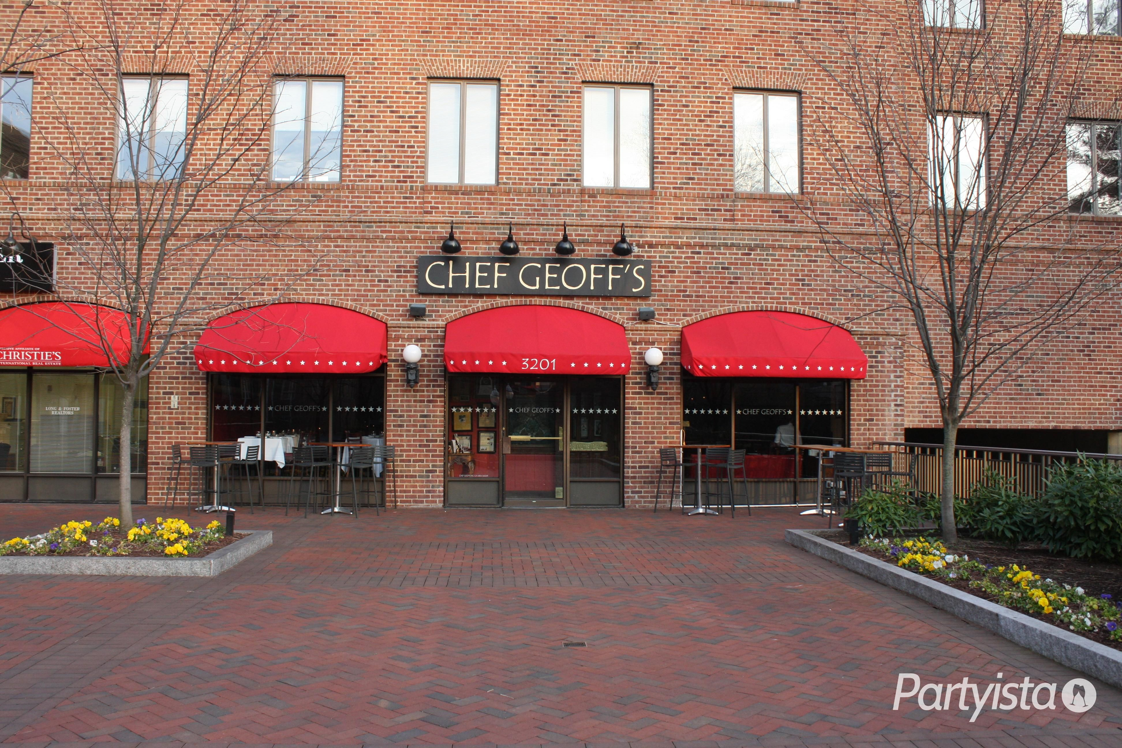 Chef Geoff's   A private room in the back could host a great Washington, DC wedding   www.partyista.com