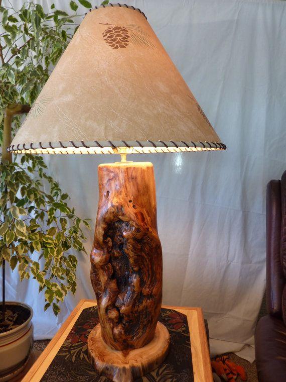 18 Colorado Aspen Tree Lodge Cabin Table Lamp by coloradoROCKart