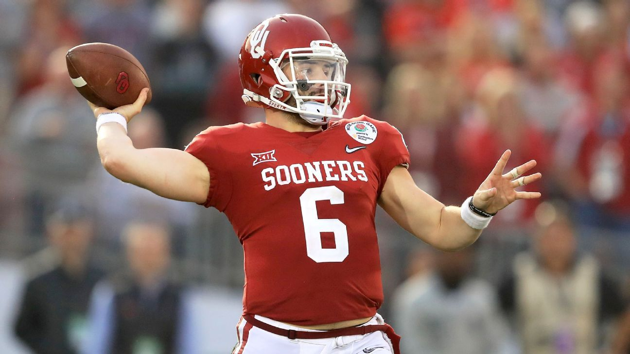 Sources Teams believe Browns pick Mayfield Nfl draft