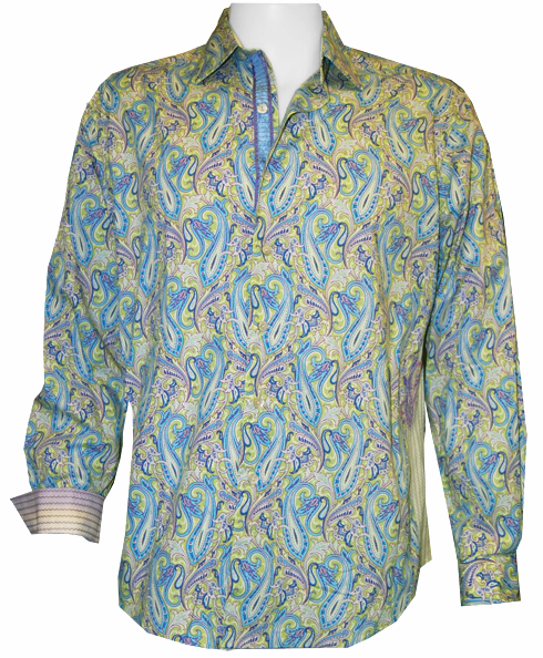 Robert Graham TOUCON Shirt, Style RS091095, Spring 2009