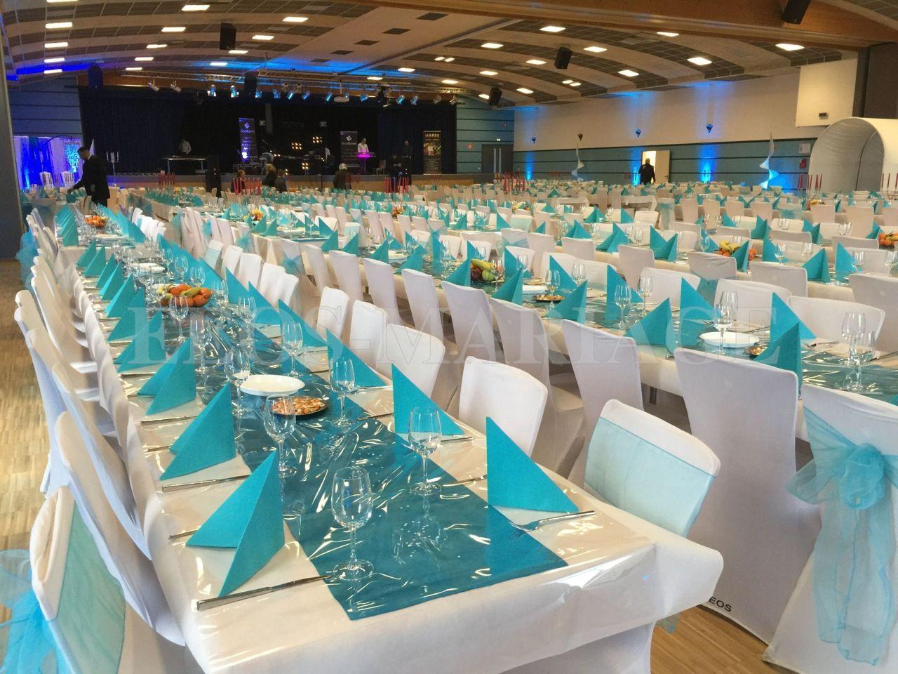D coration de mariage turquoise turquoise pinterest for Deco bleu turquoise et blanc