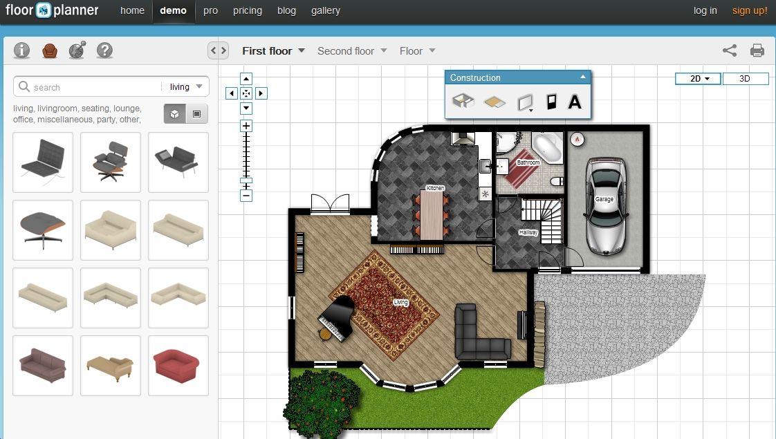 create free 3d floor plans online or