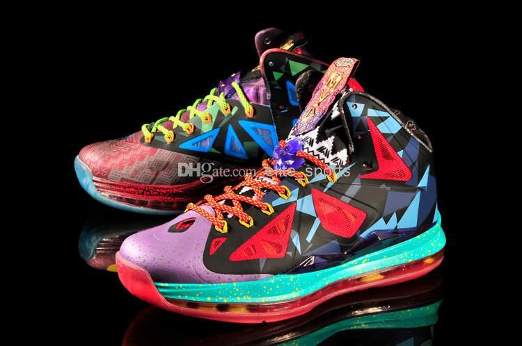 2015 Lebron 10 MVP Basketball Shoes LB 10 LBJ 1 LB10 LB X ...