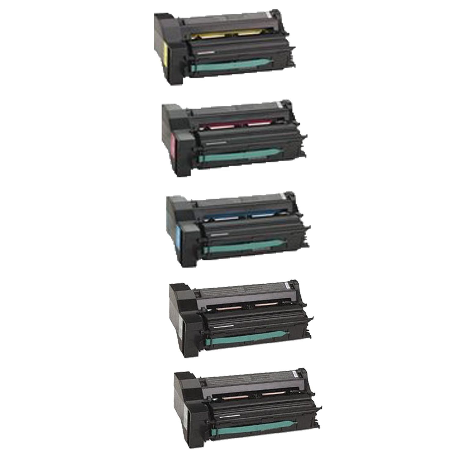N 1Set + 1BK 39V0923 39V0924 39V0925 39V0926 Compatible Toner Cartridge for IBM InfoPrint Color 1654 1664