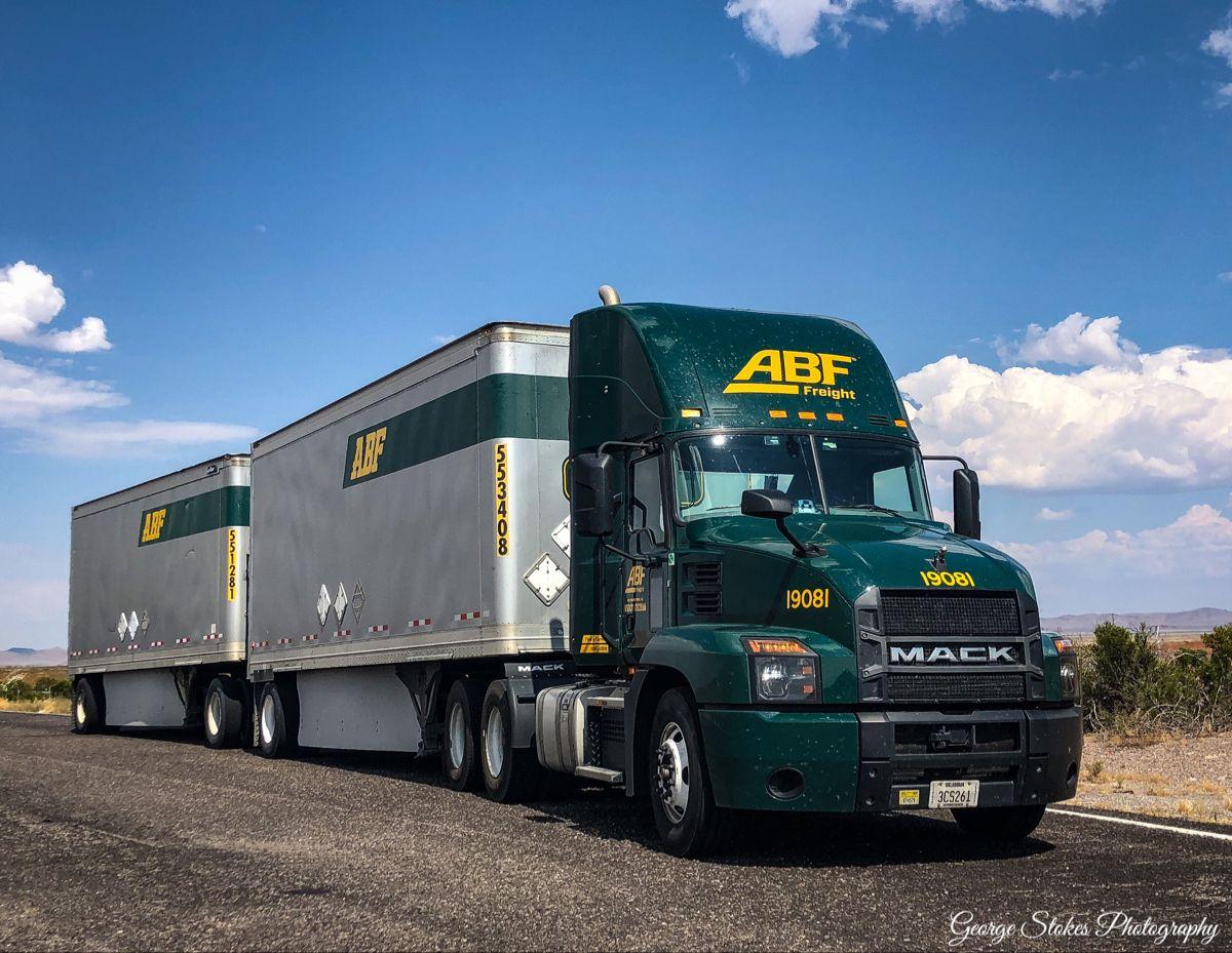 Abf freight 2020 mack anthem old mack trucks mack
