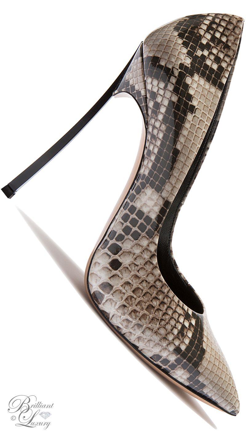 Brilliant Luxury by Emmy DE ♦Casadei 'Blade' FW 2016