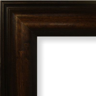 loon peak real wood distressed picture frame poster frame color american walnut size x
