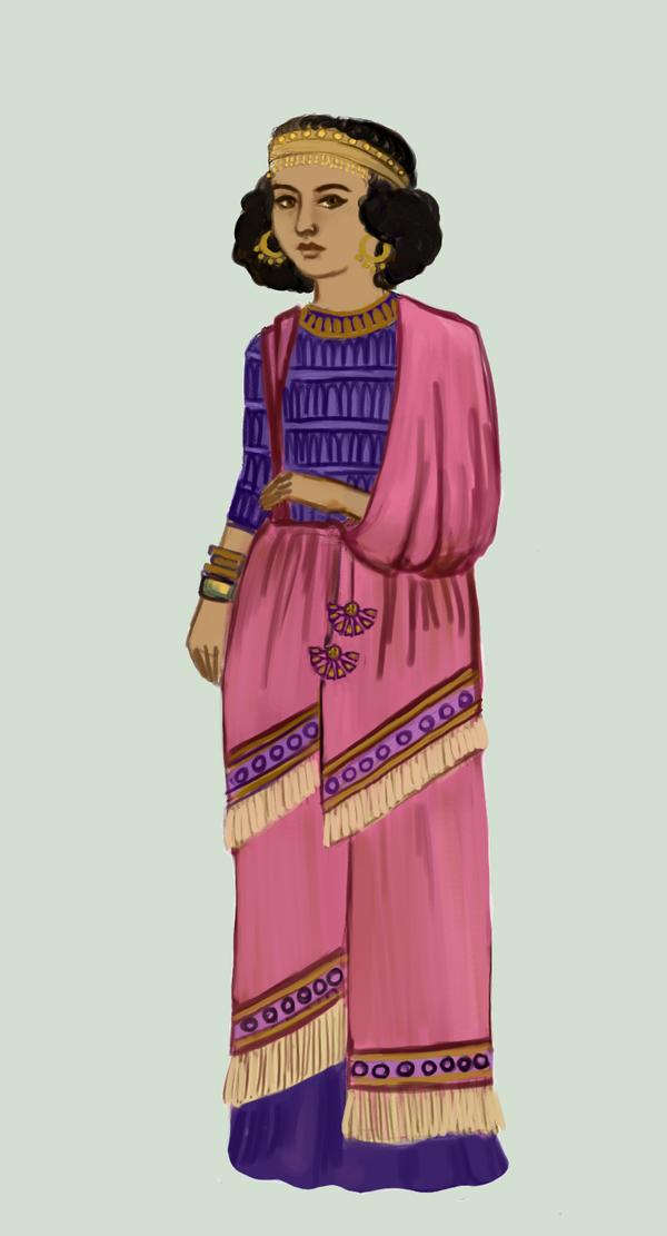 Mesopotamian fashion. Assyria .:2:. by Tadarida.deviantart ...