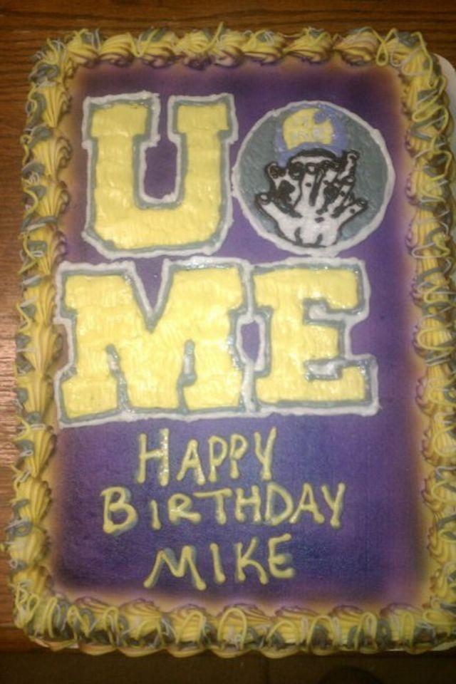 Wrestling Cake John Cena D John Bucys 11th Party Pinterest