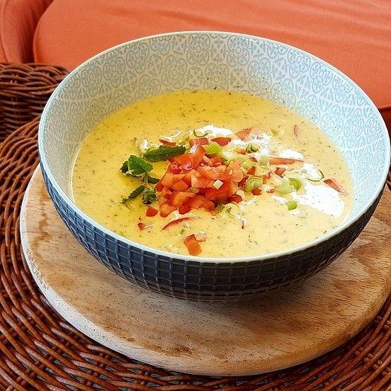 Ibu's kalte Zucchini - Joghurt - Suppe von Käthe | Chefkoch