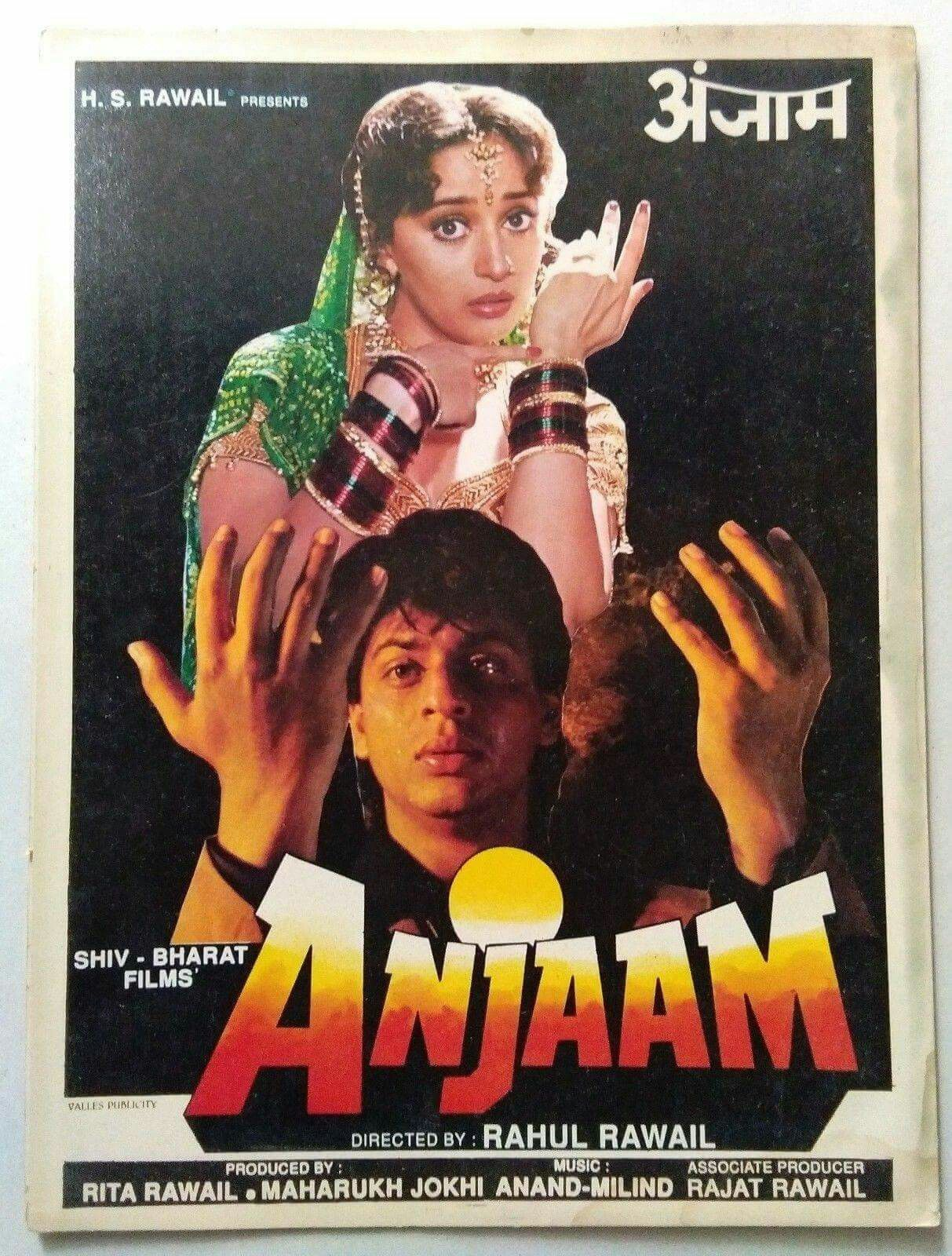 Anjaam poster | Free movies online, Movies, Bollywood posters