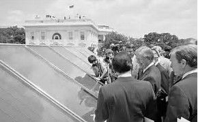 President Jimmy Carter Had Solar Panels Installed On The White House But His Successor President Ronald Reagan Solar Panels Solar Hot Water Solar
