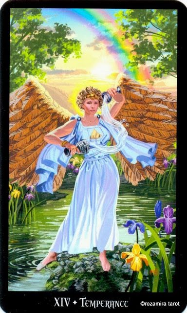Xiv Temperance Balance Archangel Zadkiel: Tarot Sorcières Par Ellen Dugan & Mark