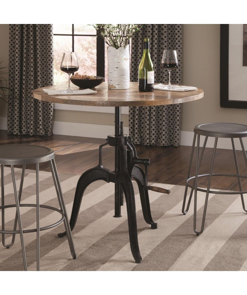 Galway Adjustable Height Dining Table with Crank by Coaster