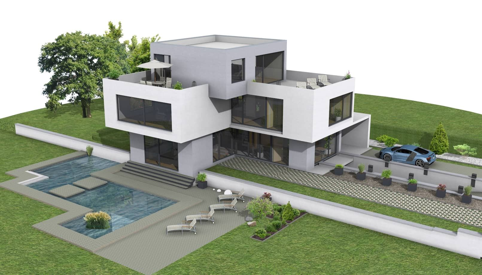 Bildergebnis Für Bauhaus Villa Architectural