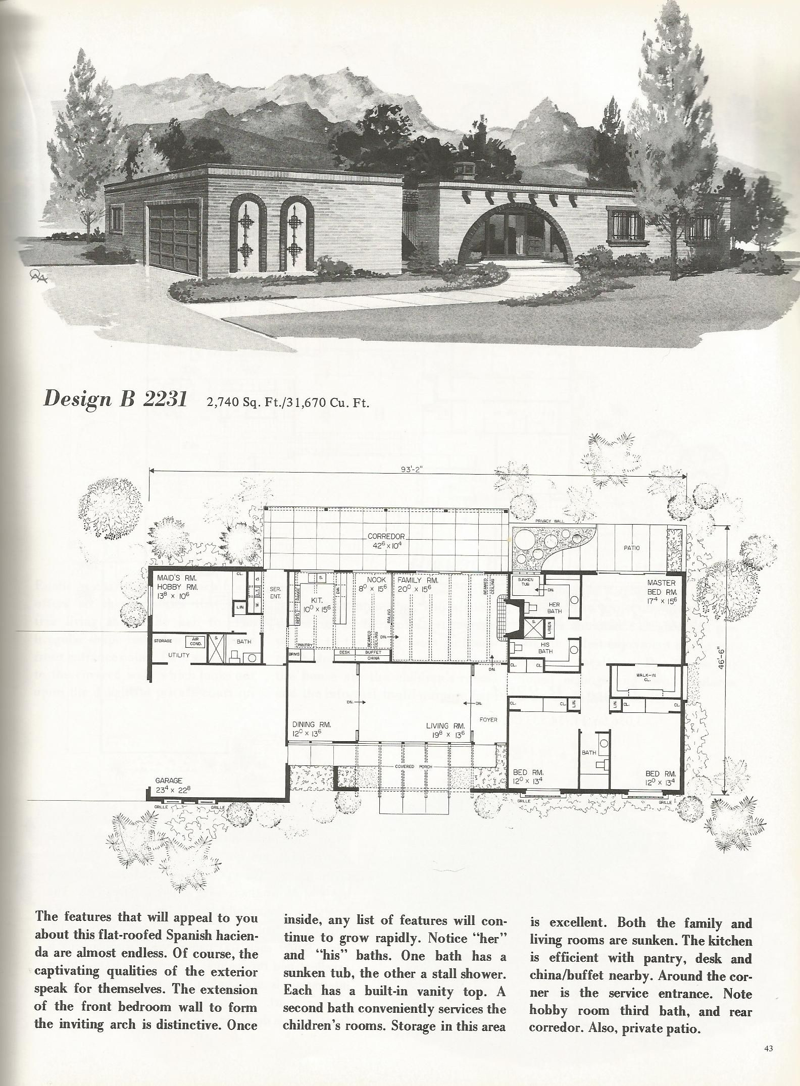 Visit The Post For More Spanish Style Homes Vintage House Plans Vintage House