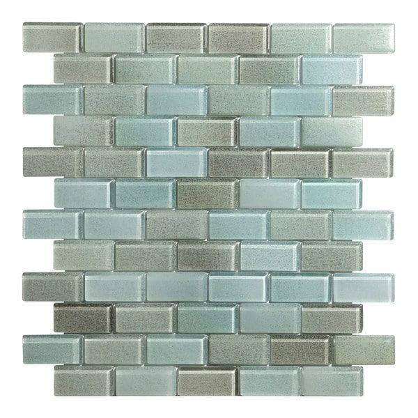Hi Fi X Offset Brick Gl Mosaic Tile Sheets Per Case