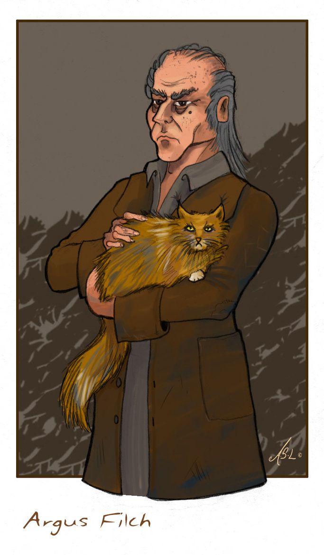 Argus Filch By Amelie Lebel C 2007