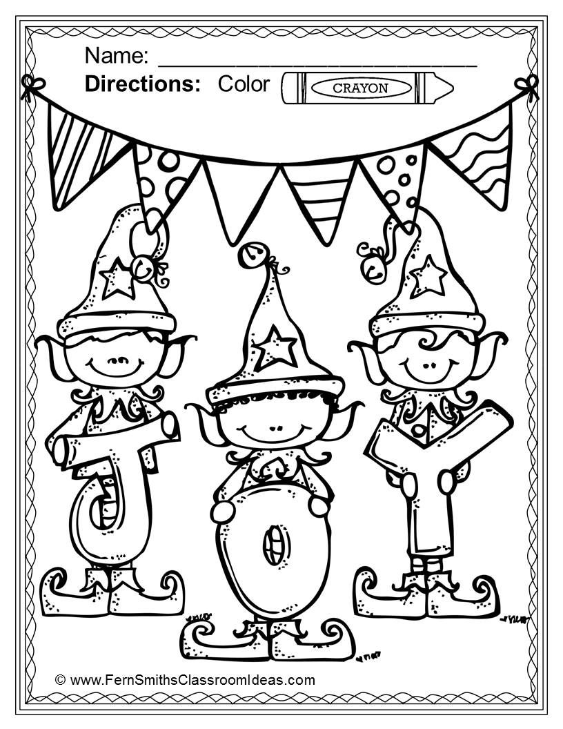Christmas Coloring Pages - 75 Pages of Christmas Coloring ...