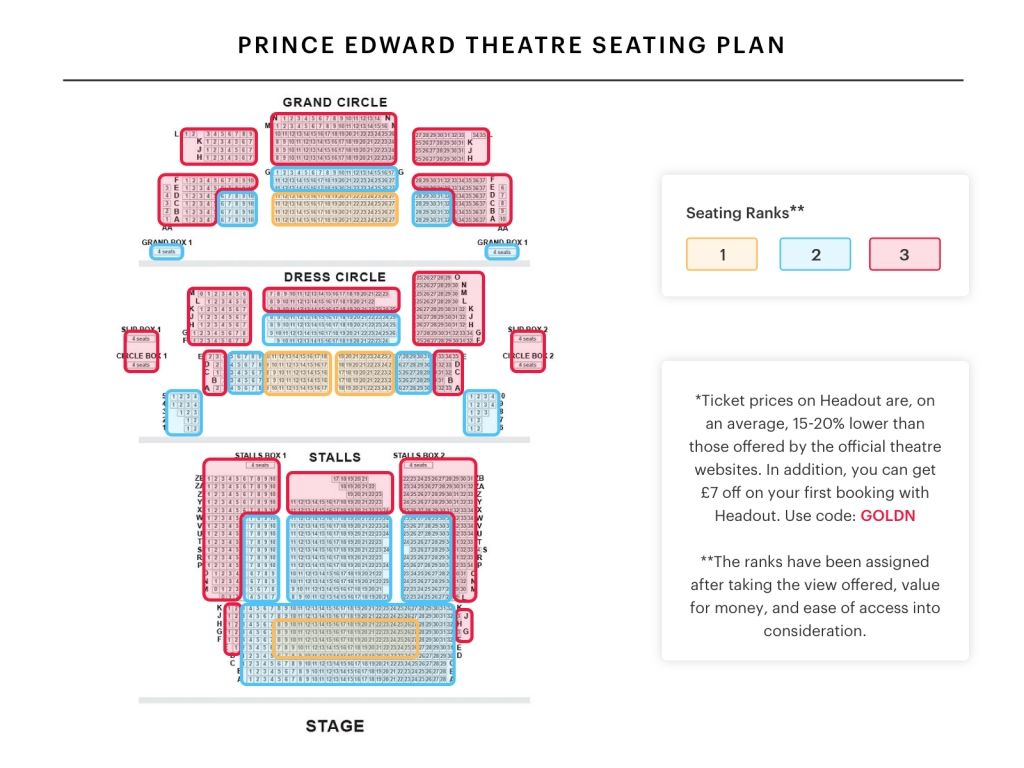 Awesome As Well As Attractive Theatre Royal Stratford East Seating Plan Seating Plan Prince Edward Theatre Theater Seating