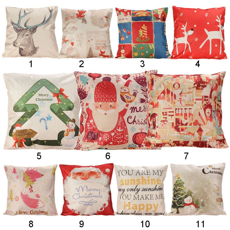 LS40G 40 Types Home Decorative Linen Cotton Blended Cushion Crown Interesting Types Of Decorative Pillows