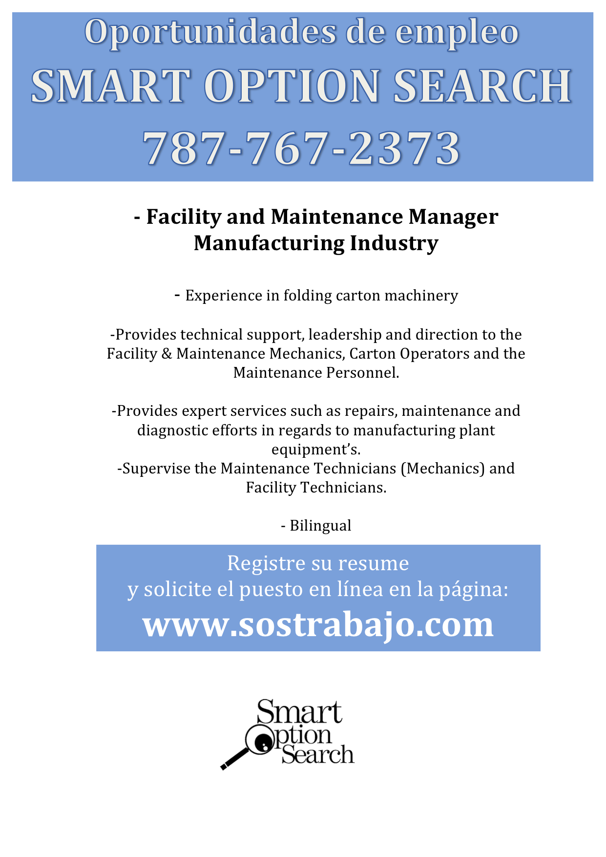 Facility Maintenance Manager Sample Resume Classy Empleosjobs Facility & Maintenance Managerresumes A Franjen .