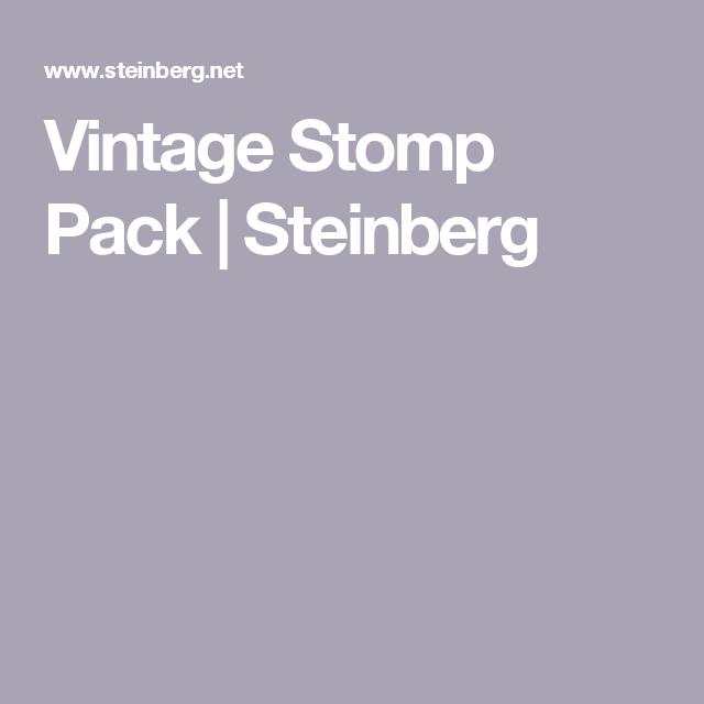 Vintage Stomp Pack Steinberg Vintage Vintage Collection Collection