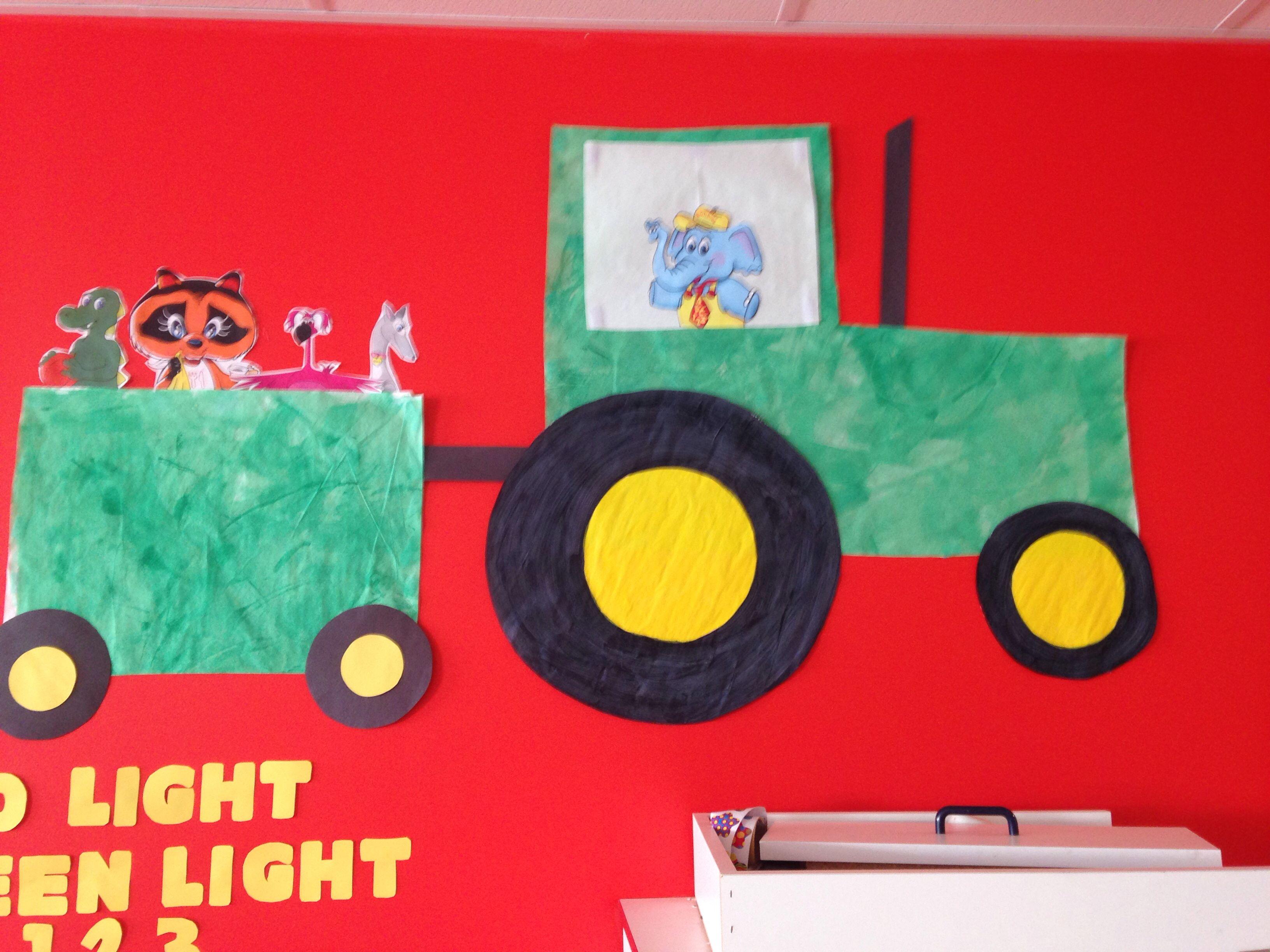 Easy Tractor Idea