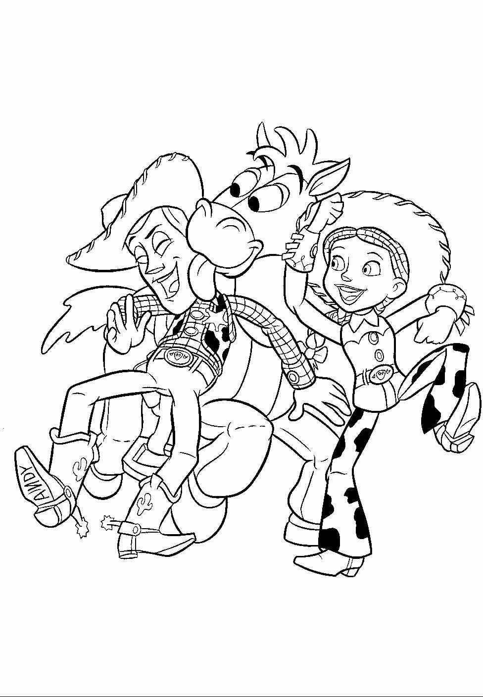 Toy Story Coloring Page Elegant Toy Story Coloring Page In 2020 Toy Story Coloring Pages Disney Coloring Pages Coloring Pages