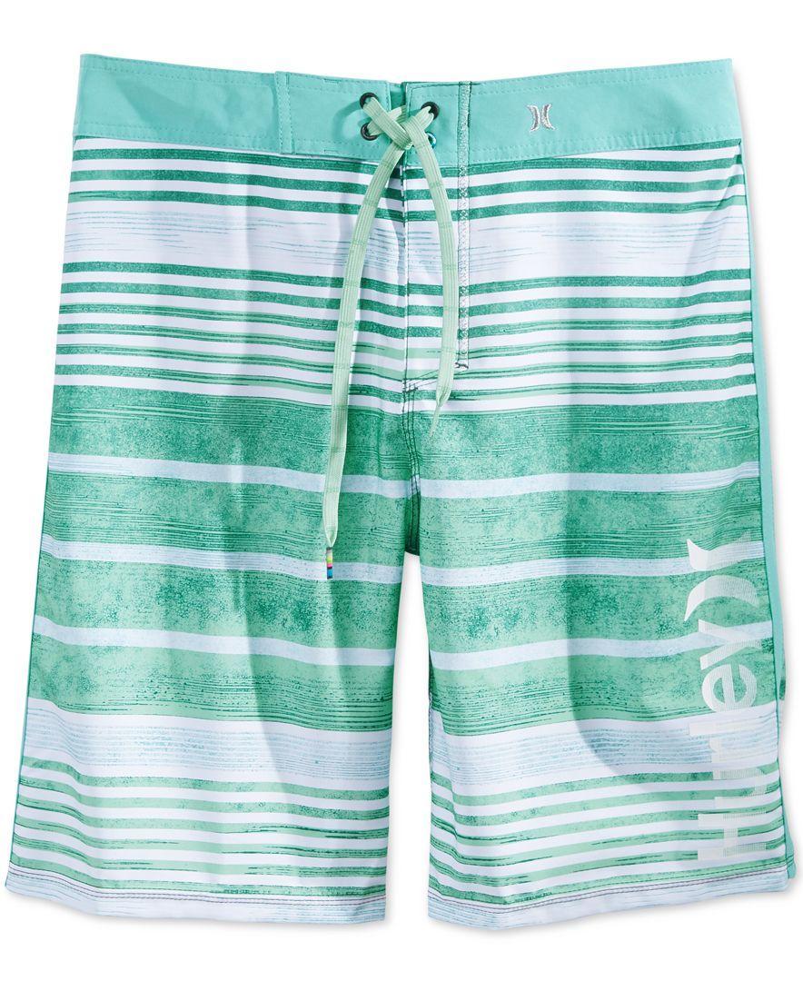 92c1da8bbe Hurley Men's Phantom Hightide Stripe Boardshorts | Ed clothes ...