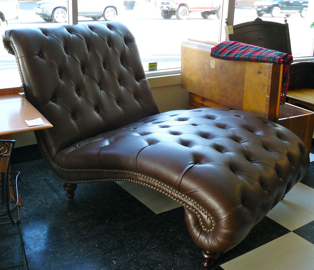 double indoor chaise - Google Search : double leather chaise - Sectionals, Sofas & Couches