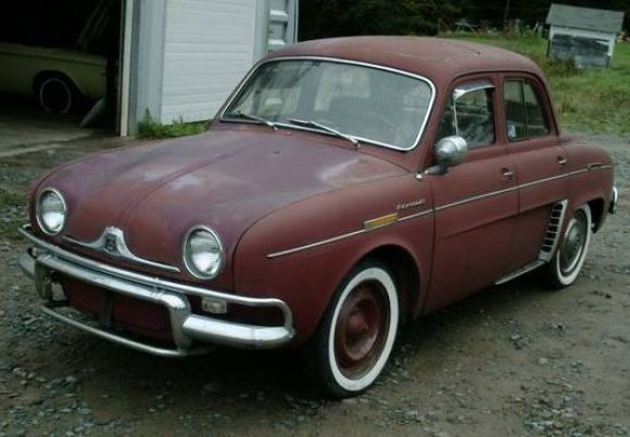 1960 Renault Dauphine Deluxe Sunroof Classic Cars Renault Classy Cars