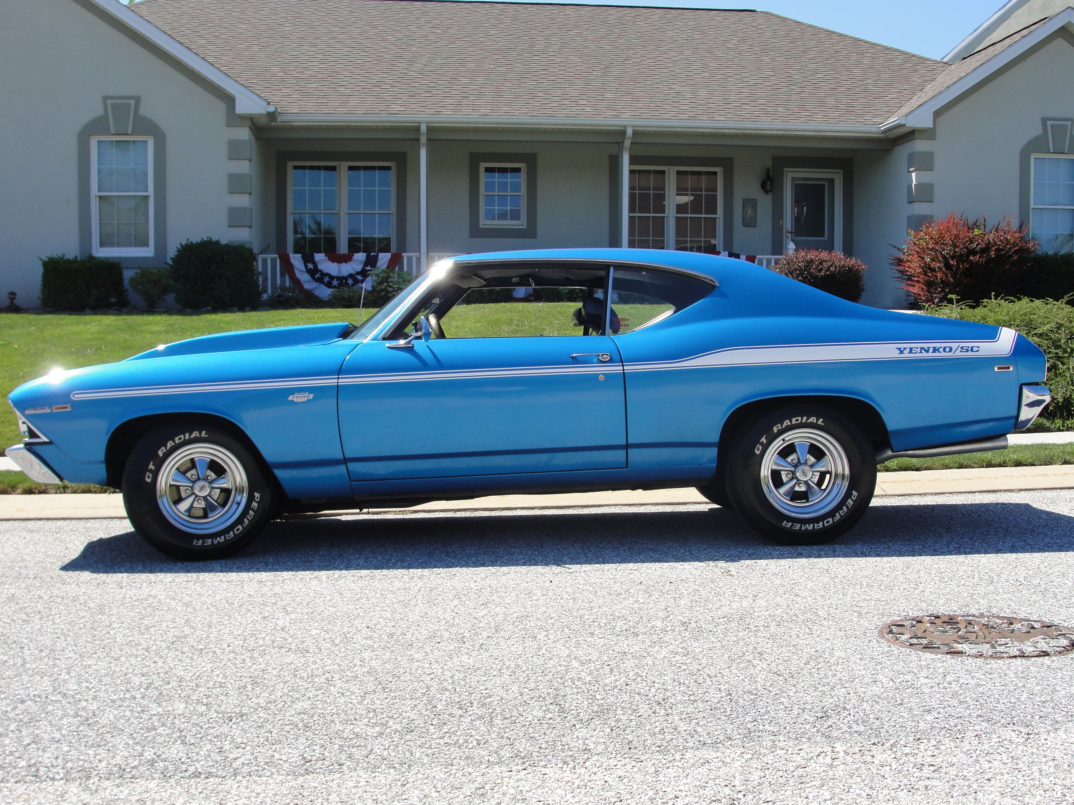 here a fine example of the very rare Yenko Chevelle 1969 SS