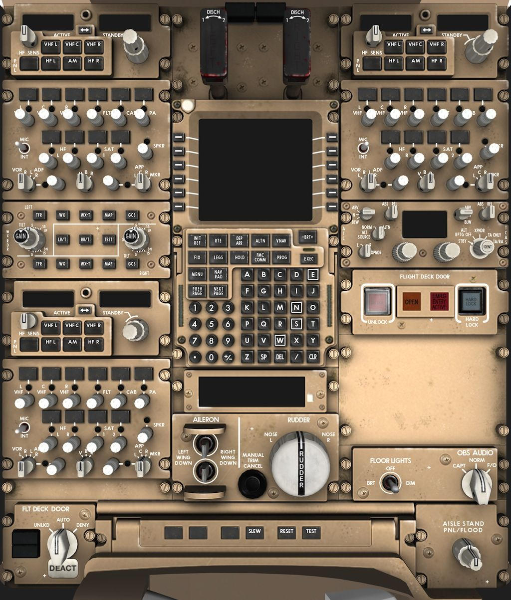 space shuttle cockpit layout -#main