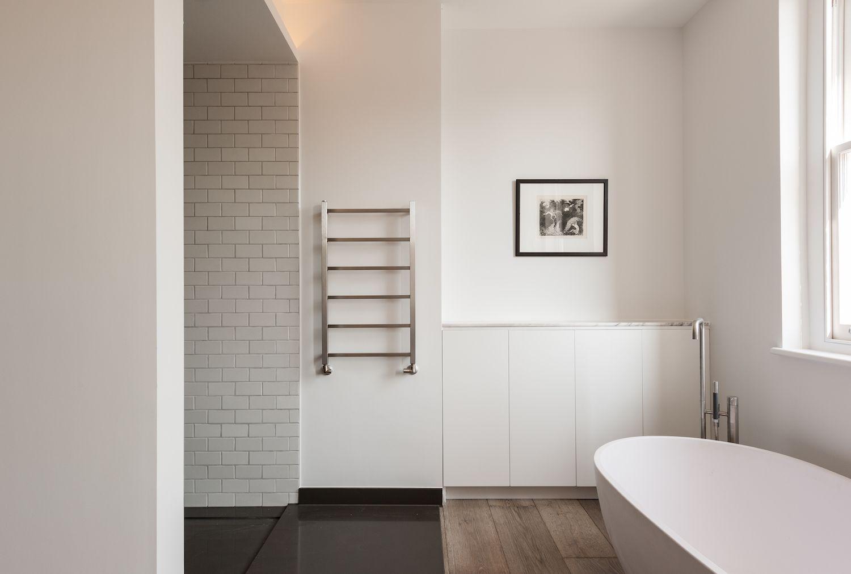 Bathroom of the Week: In London, a Dramatic Turkish Marble Bathroom ...