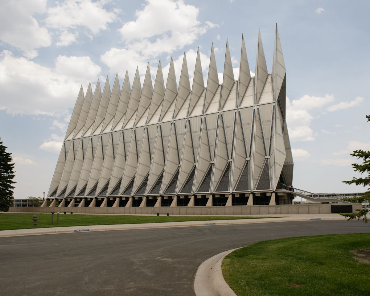 United States Air Force Academy chapel, Colorado Springs