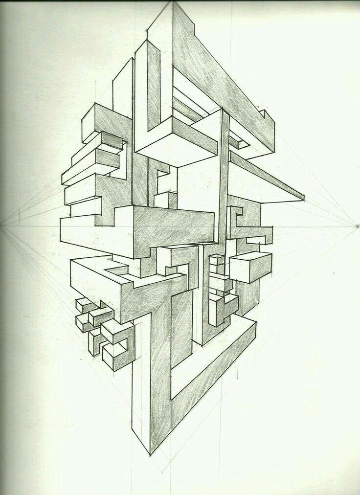 pingl par jessica pecoraro sur art 2d projects pinterest dessin perspective perspective. Black Bedroom Furniture Sets. Home Design Ideas