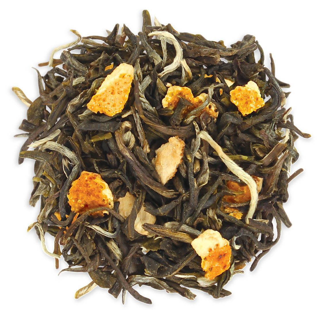 Tea Forté's Orange Jasmine Tea Sunshiny citrus brightens