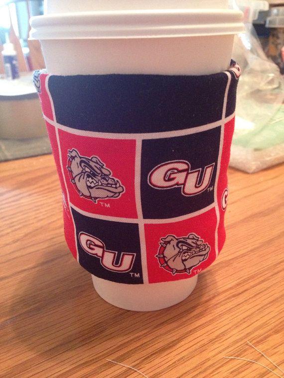 University California UC Cal coffee Cozie sleeve. NCAA  on Etsy, $3.75
