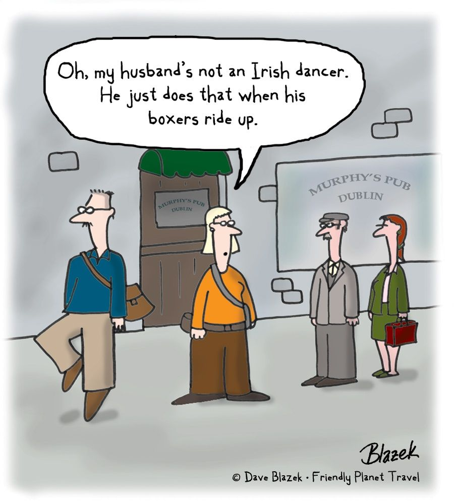 Irish adult humor